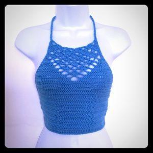 🌺 Crop Top crochet